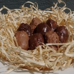 Atkins low carb chocolate coated coconut balls U